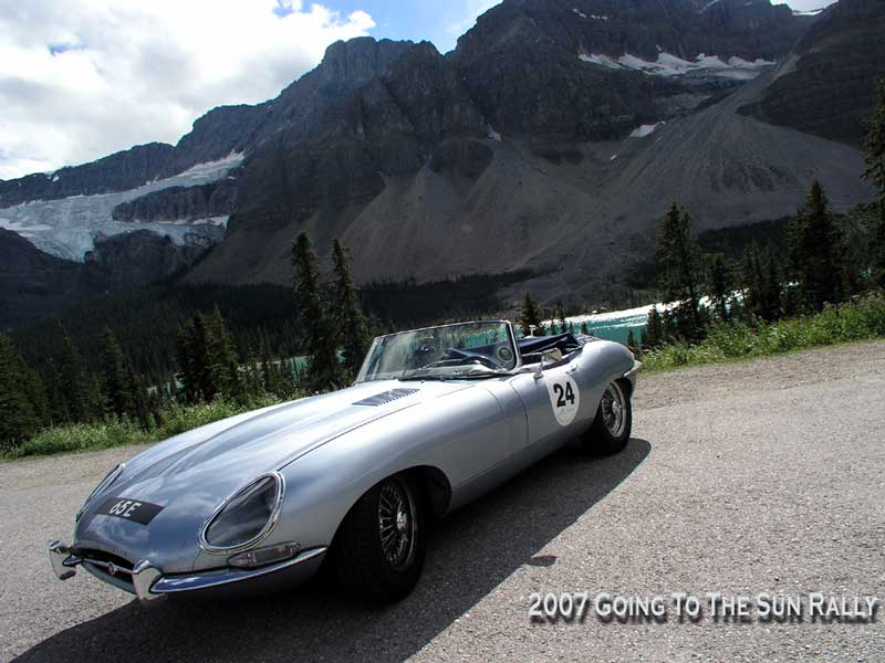 E-type and Crowfoot Glacier