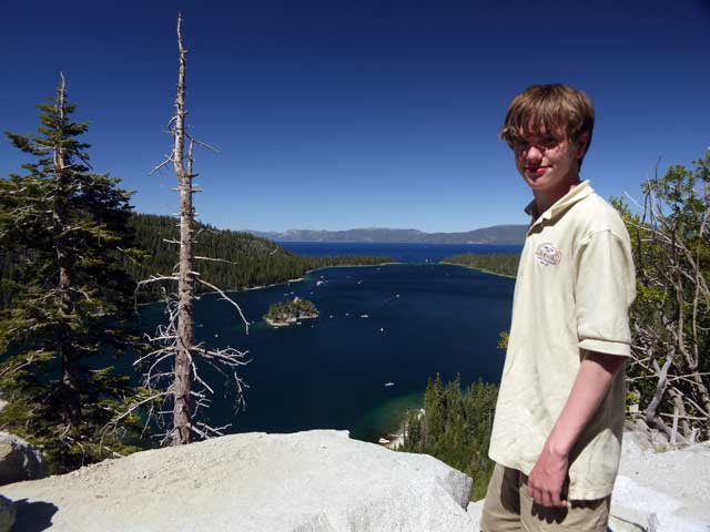 Nick, and Emerald Bay