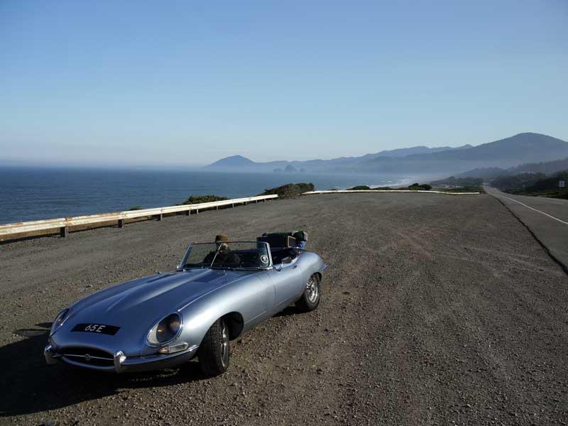 A rare sunny stretch along the southern Oregon Coast.