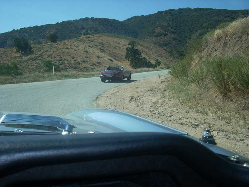 Following Larry along the San Andreas Fault.