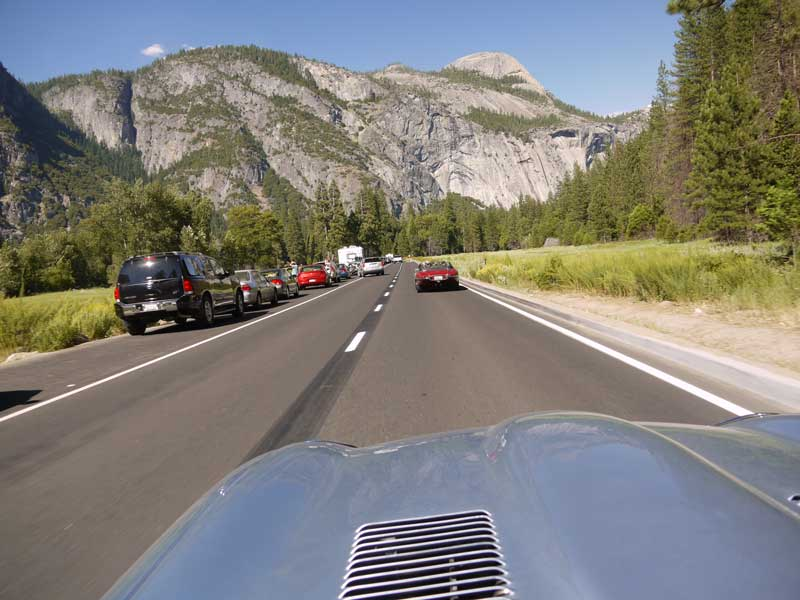 Following Larry Wade's S1 through Yosemite Valley