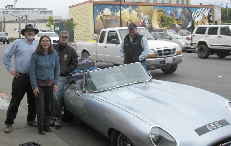 Greg & Susan Gehr join us for lunch in Eureka, CA.