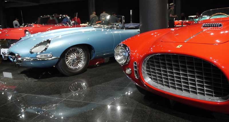 Phil Hill's personal Ferrari and a familiar-looking car...