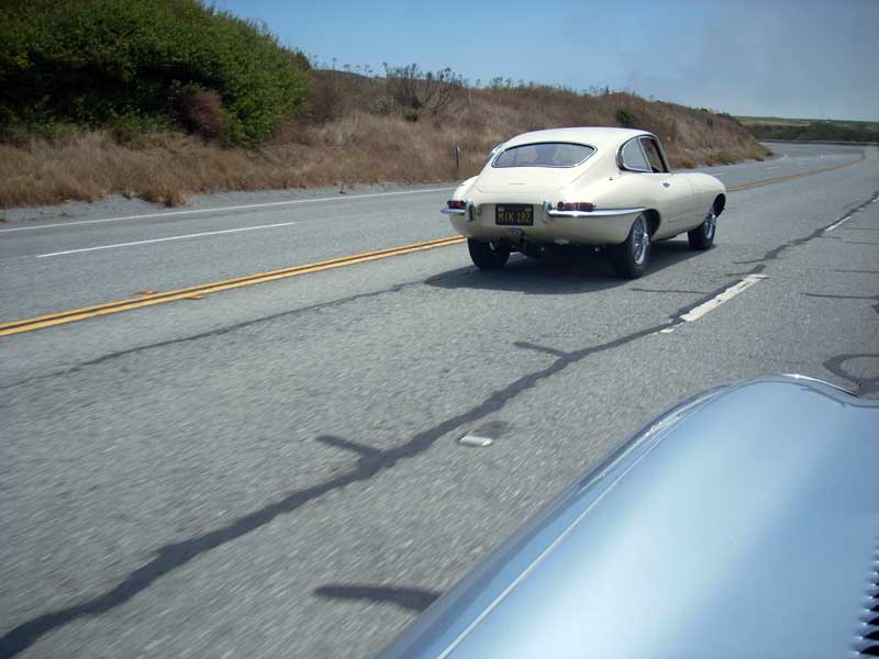 Jerry's FHC on PCH heading around Monterey Bay