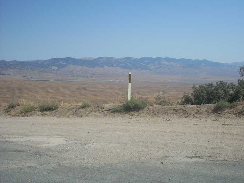 A glimpse of the Mojave Desert.