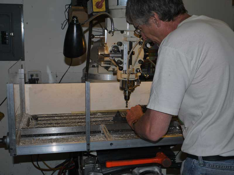 Ray, milling more parts for... his mill.