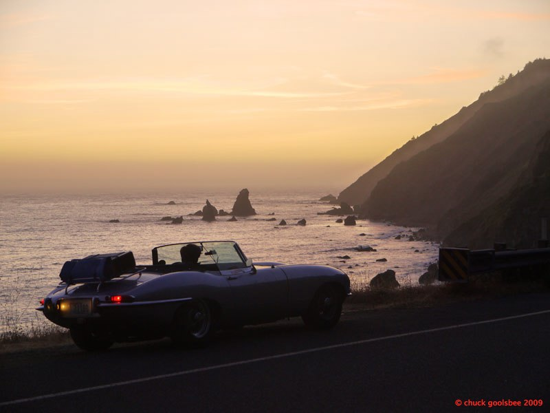6. Sunset on CA HWY 1.