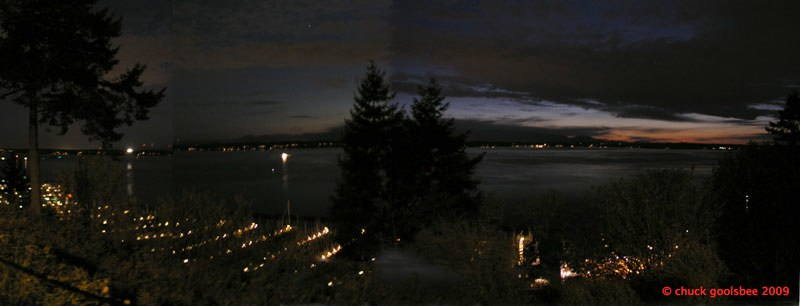 24. Shilshole Bay after Sunset.