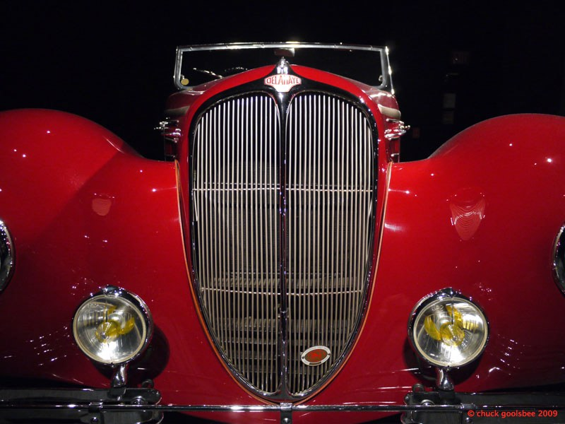 44. Study of Delahaye Grille.