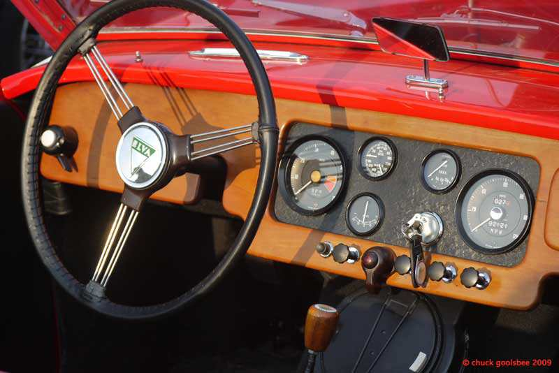 42. Still Life with Elva Dashboard.