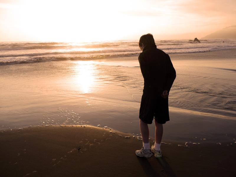 11. Nick at Sunset