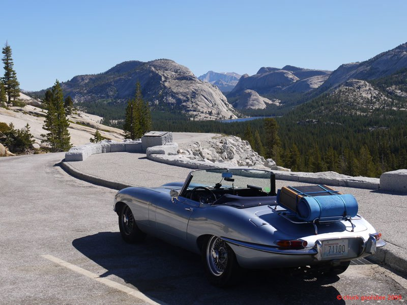 26. E-type above Tenaya Lake, Yosemite, California.