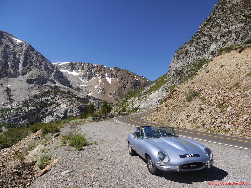 15. 65E descending Tioga Pass, California.