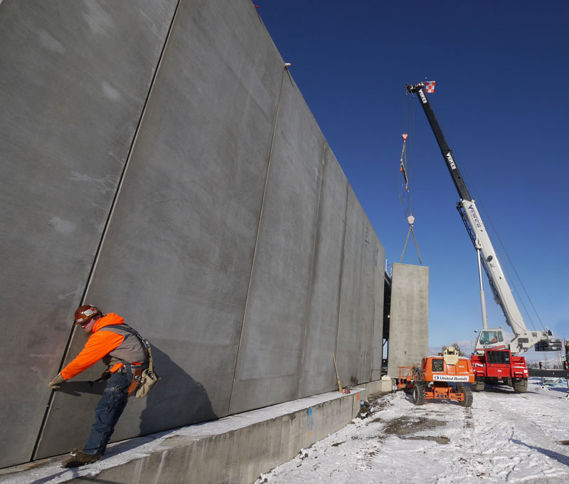 The Wall is Up.