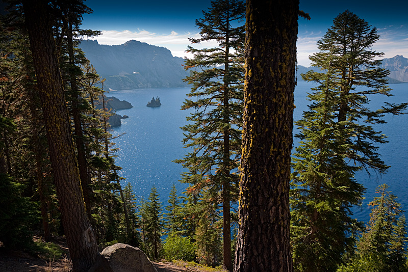 A non-standard look at Crater Lake