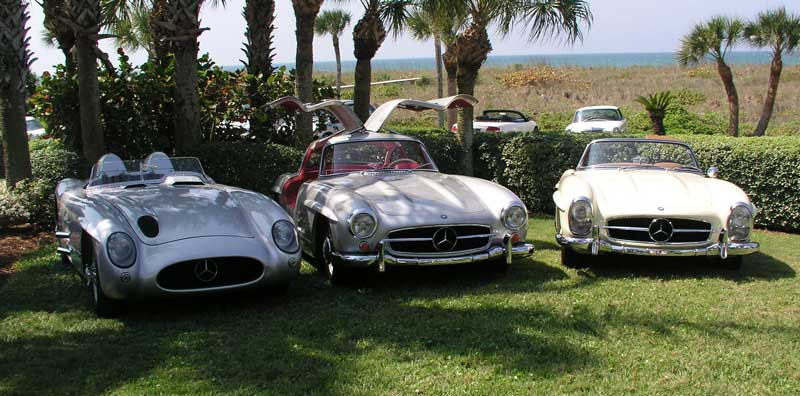 The Complete Set, L-R: 300slr, Coupe, Roadster.