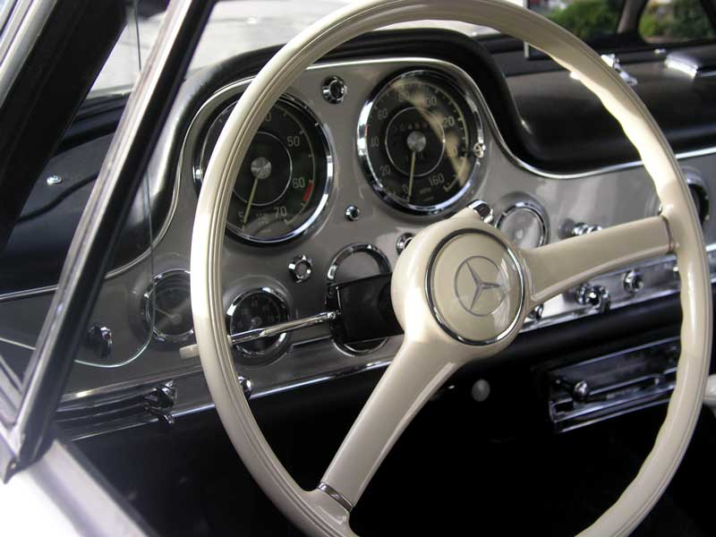the dashboard of a Coupe