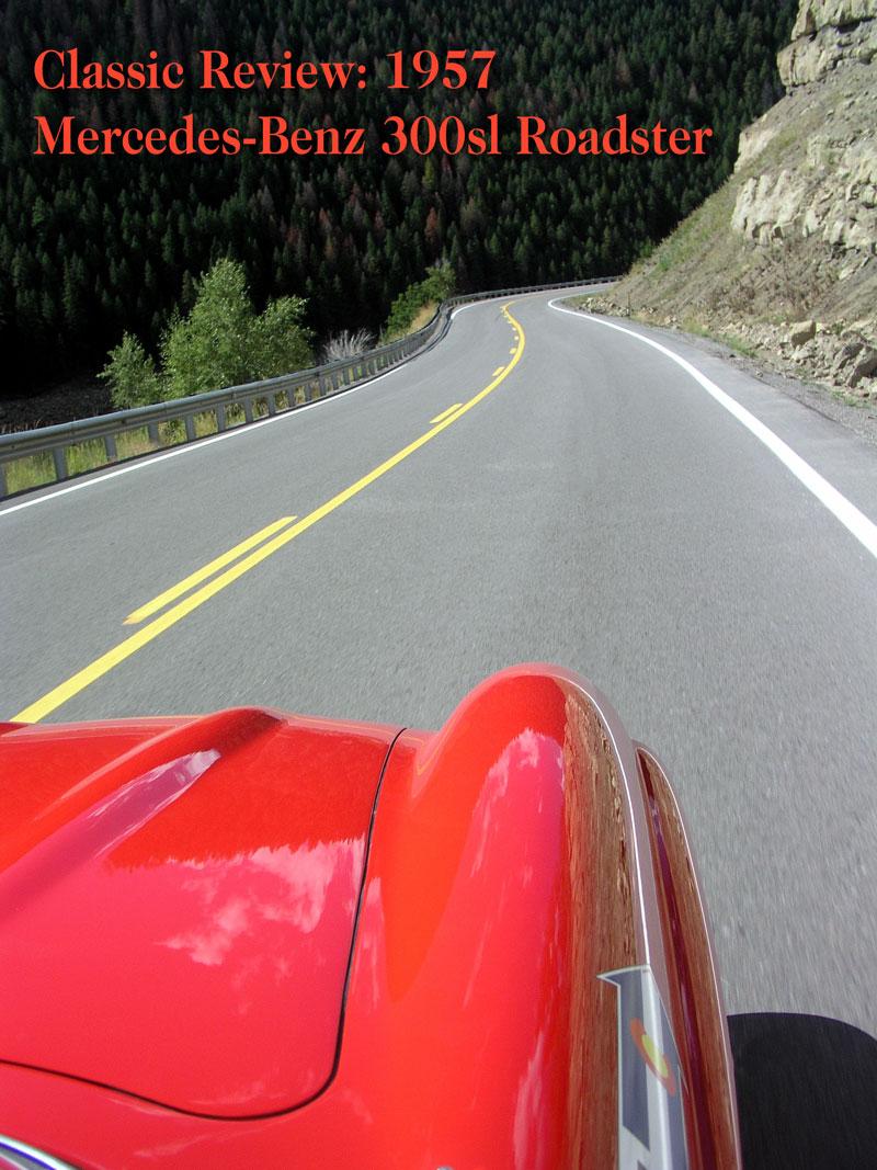 Review: 1957 Mercedes-Benz 300sl Roadster – chuck goolsbee org