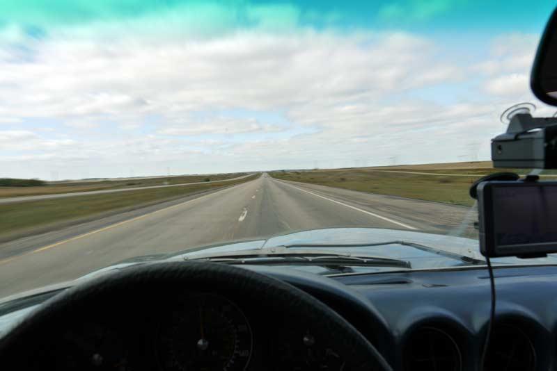 Somewhere west of Laramie…