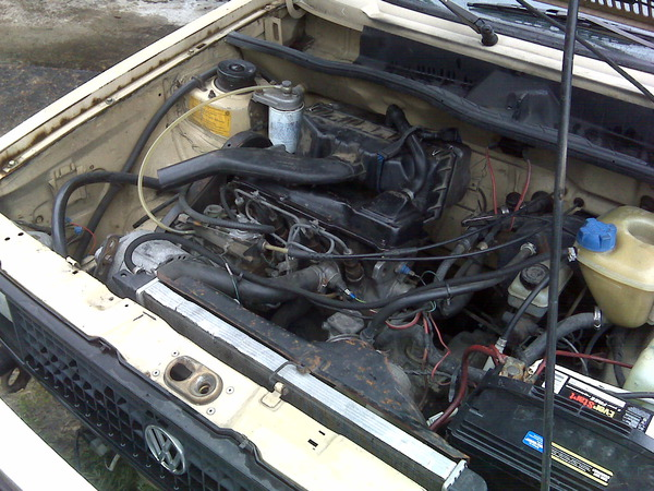 This is the little Diesel I cut my mechanical teeth on back in the 80s. John Meister's new-old 1981 VW Rabbit Diesel Pickup