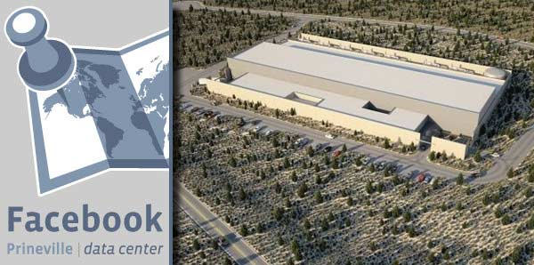 Facebook's Prineville, Oregon Data Center.