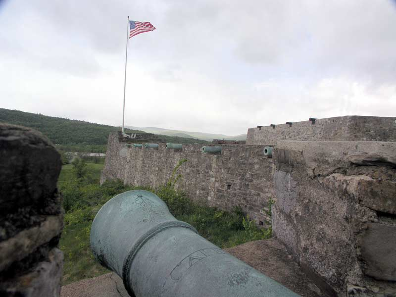 Guns at Fort Ticonderoga