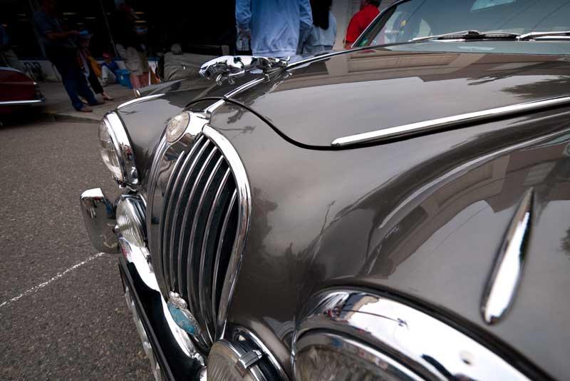 Rick Martin's 1963 Jaguar Mk.2.