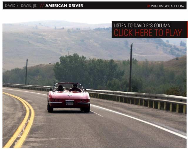 David E Davis' Corvette: For Sale