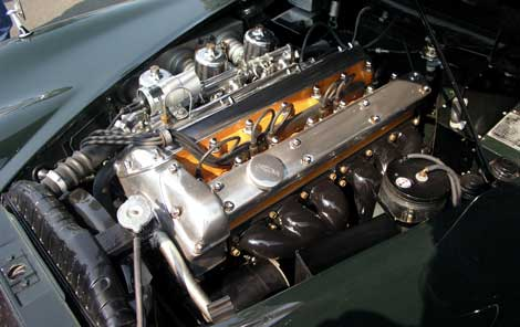 The Jaguar XK engine