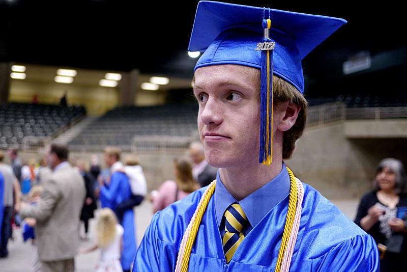 Nick Goolsbee, Graduate.