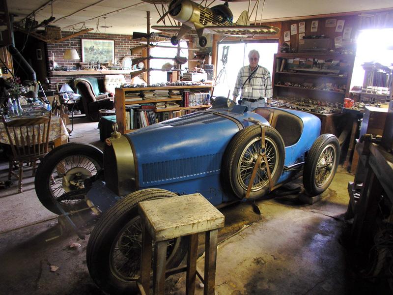 The Bugatti in the Living Room.
