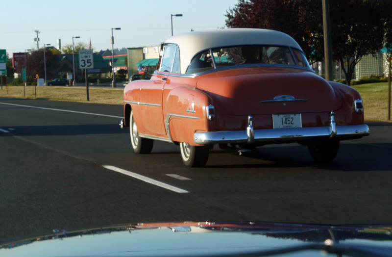 A 1949 Chevrolet in CDA, ID.