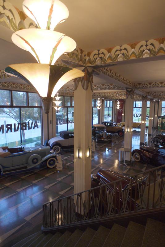 Elegant Art Deco light fixtures.