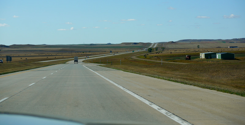 Above: Somehow I imagined a Texas Panhandle-like flatness. Instead it was varied and hilly