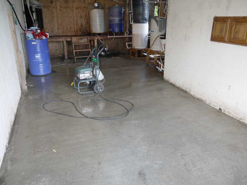Clean Concrete!
