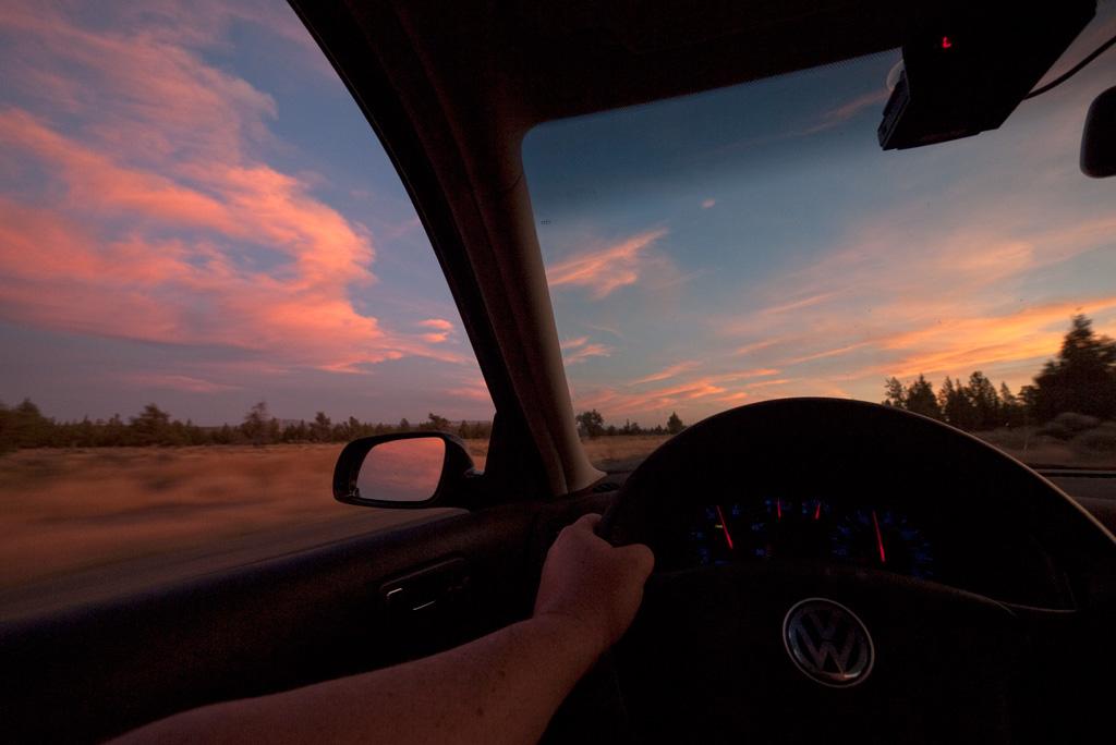 Central Oregon Sky.