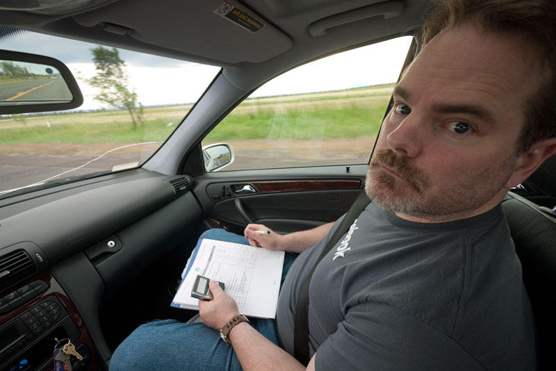 Confused Yet? Kyle Murray tries TSD navigation for the first time!