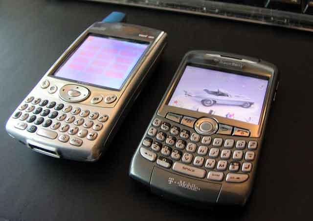 Chucks Old & New Phones