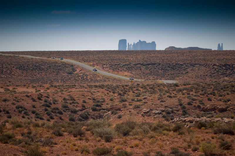 Leaving Goosenecks. Monument Valley behind, and ahead… Moki Dugway.