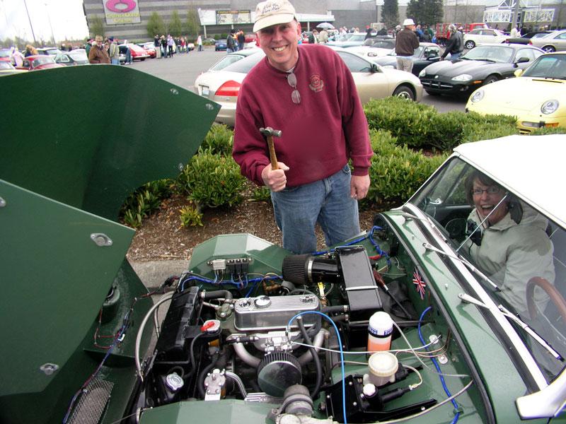 Answer: Using the Lucas Standard Starter Motor Accessory!