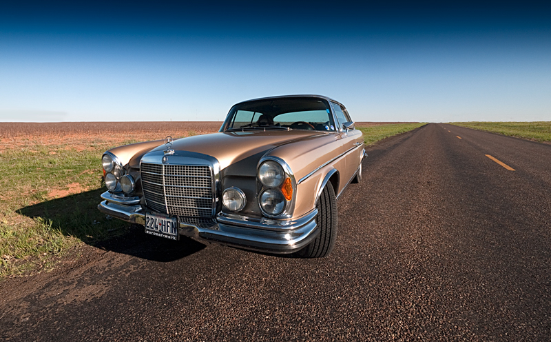 Texas to Oregon in a classic Mercedes 280se Coupe: Day 3